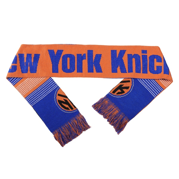 Forever Collectibles NBA New York Knicks Split Logo Reversible Scarf