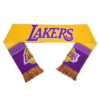 Forever Collectibles NBA Los Angeles Lakers Split Logo Reversible Scarf