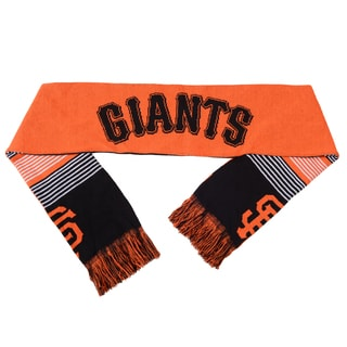 Forever Collectibles MLB San Francisco Giants Split Logo Reversible Scarf
