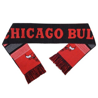 Forever Collectibles NBA Chicago Bulls Split Logo Reversible Scarf