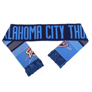 Forever Collectibles NBA Oklahoma City Thunder Split Logo Reversible Scarf