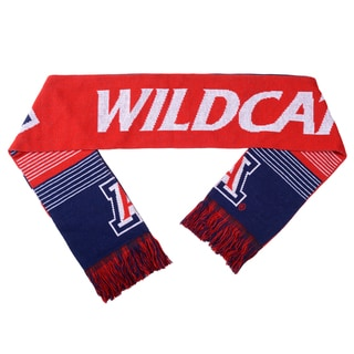 Arizona Wildcats Split Logo Reversible Scarf