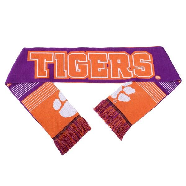 Clemson Tigers Split Logo Reversible Scarf