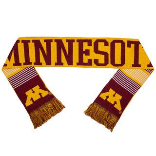 Minnesota Golden Gophers Split Logo Reversible Scarf