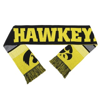 Iowa Hawkeyes Split Logo Reversible Scarf