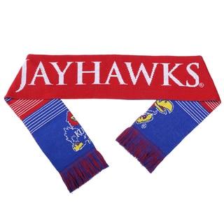 Kansas Jayhawks Split Logo Reversible Scarf