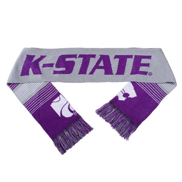Kansas State Wildcats Split Logo Reversible Scarf