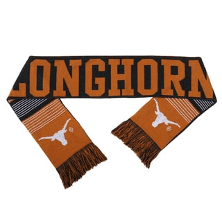 Texas Longhorns Split Logo Reversible Scarf