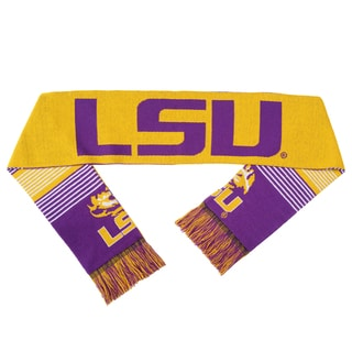 LSU Tigers Split Logo Reversible Scarf