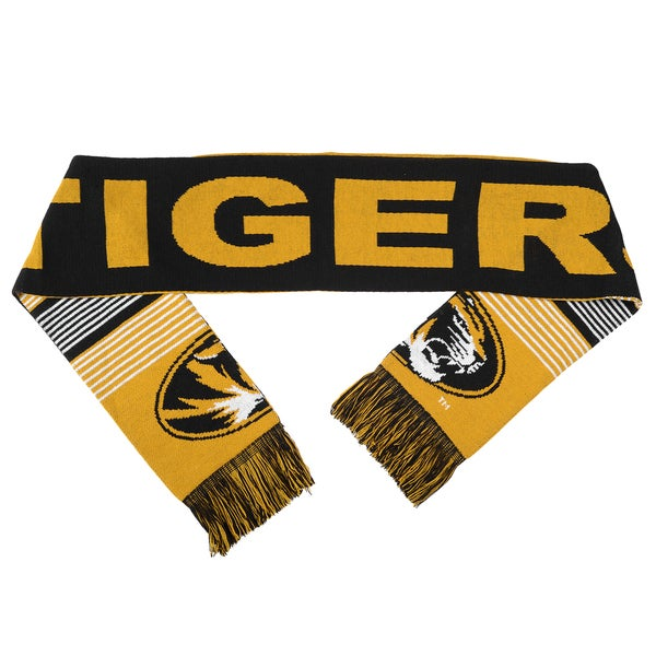 Missouri Tigers Split Logo Reversible Scarf