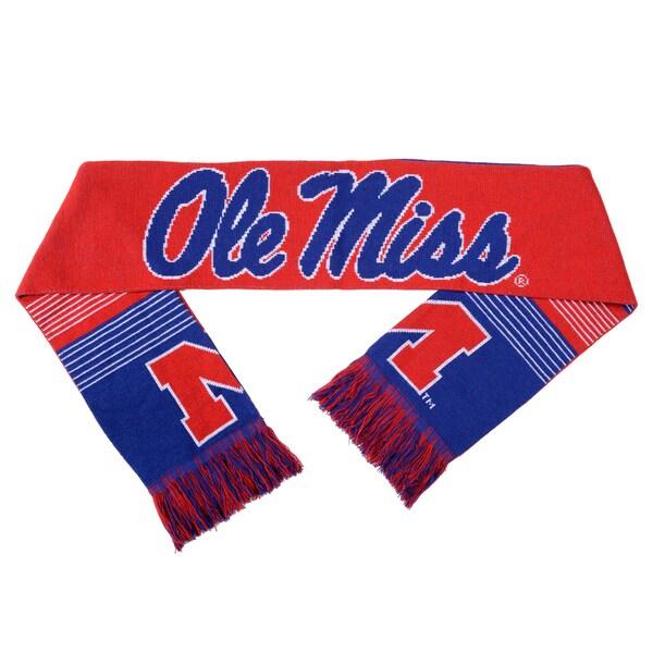 Ole Miss Rebels Split Logo Reversible Scarf