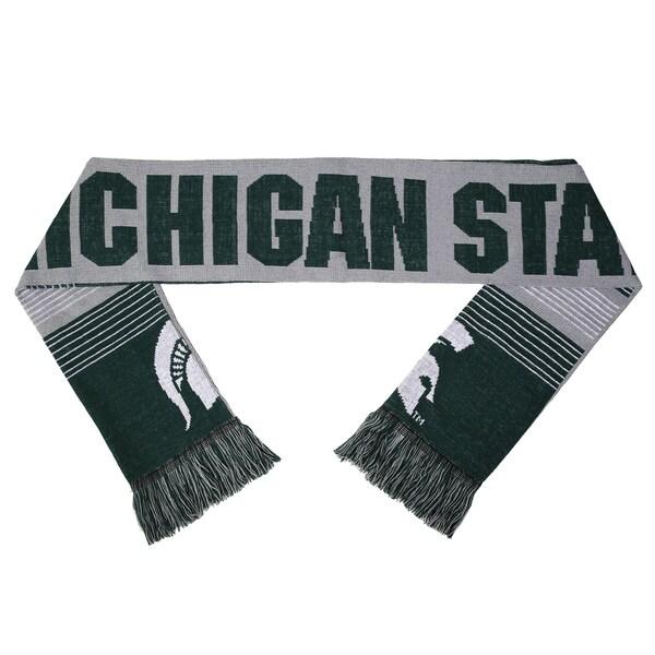 Michigan State Spartans Split Logo Reversible Scarf