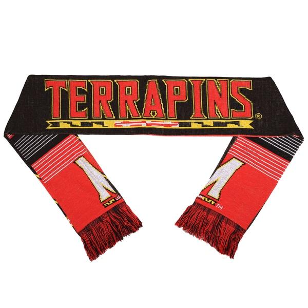 Maryland Terrapins Split Logo Reversible Scarf