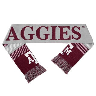 Texas A and M Aggies Split Logo Reversible Scarf