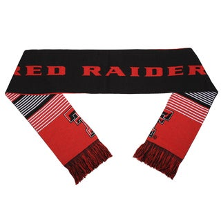 Texas Tech Red Raiders Split Logo Reversible Scarf