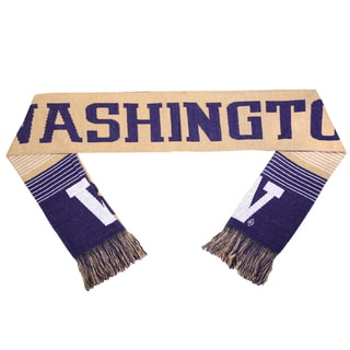 Washington Huskies Split Logo Reversible Scarf