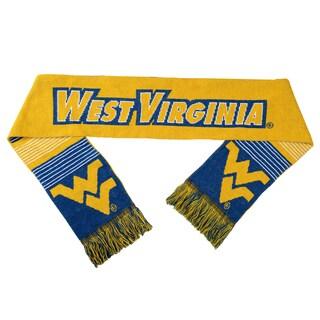 West Virginia Mountaineers Split Logo Reversible Scarf