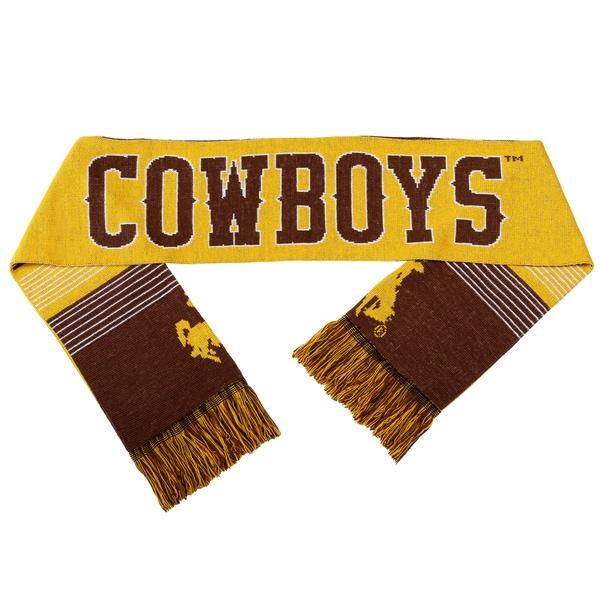 Wyoming Cowboys Split Logo Reversible Scarf