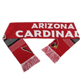 Forever Collectibles NFL Arizona Cardinals Split Logo Reversible Scarf