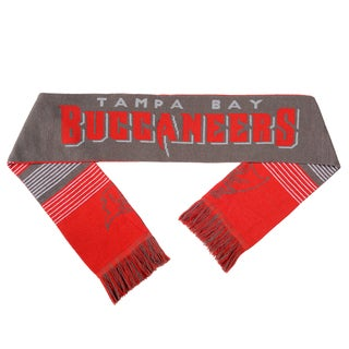 Forever Collectibles NFL Tampa Bay Buccaneers Split Logo Reversible Scarf
