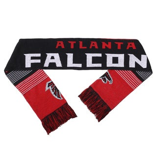 Forever Collectibles NFL Atlanta Falcons Split Logo Reversible Scarf