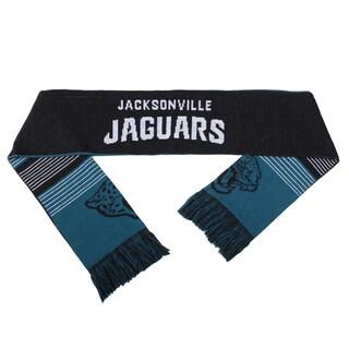 Forever Collectibles NFL Jacksonville Jaguars Split Logo Reversible Scarf