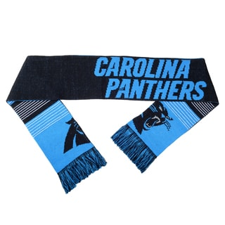 Forever Collectibles NFL Carolina Panthers Split Logo Reversible Scarf