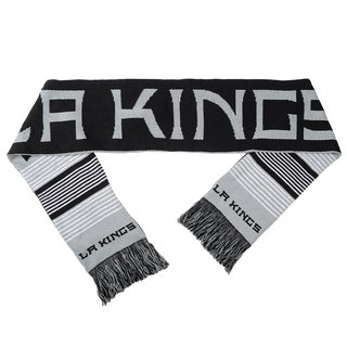 Forever Collectibles NHL Los Angeles Kings Split Logo Reversible Scarf