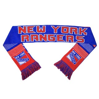 Forever Collectibles NHL New York Rangers Split Logo Reversible Scarf