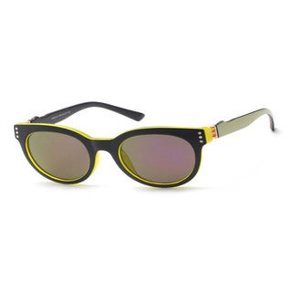 Round Sunglasses with Blue Tinted Lens 50MM