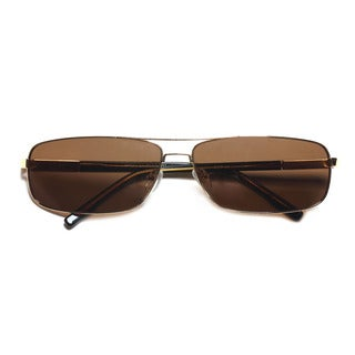 Square Sunglasses with Metal Frame 62MM