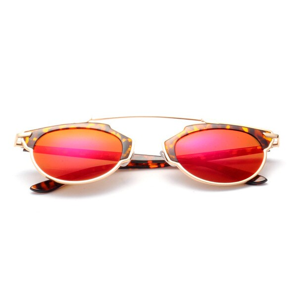 Round Sunglasses with Frames 48MM. Opens flyout.