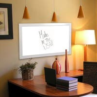 American Made Rayne Glossy White Dry Erase Board