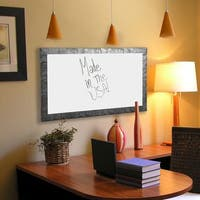 American Made Rayne Safari Silver Whiteboard