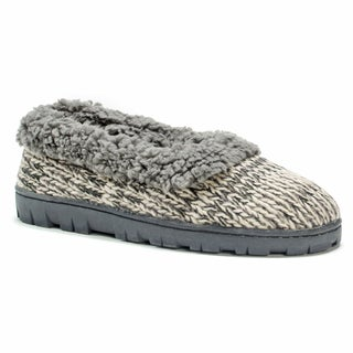 Muk Luks Women's Pattern Full Foot Cozy Slipper