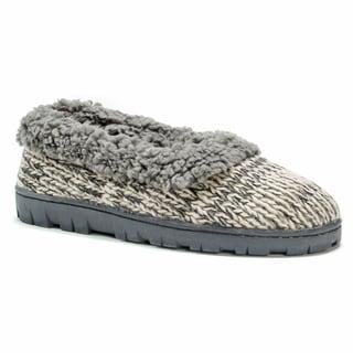 Muk Luks Women's Pattern Full Foot Cozy Slipper