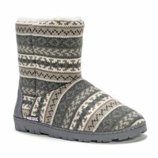 Muk Luks Women's Short Lug Boot