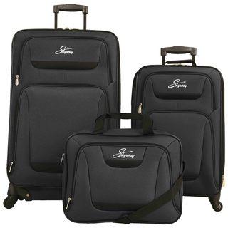 Skyway Glacier Peak 3-piece Expandable Spinner Luggage Set
