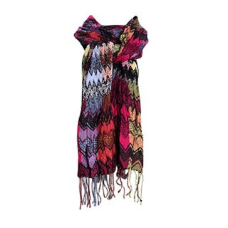 Zig Zag Chevron Design Winter Oblong Scarf
