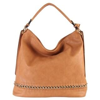 Rimen & Co. Leather Large Shoulder Bag