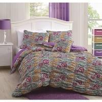 Mandy Peace/Animal 4-piece Comforter Set