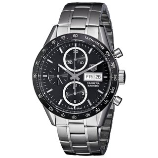 Tag Heuer Carrera Stainless Steel Automatic Chronograph Mens Watch