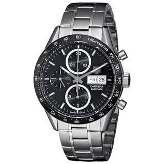 Tag Heuer Carrera Stainless Steel Automatic Chronograph Mens Watch https://ak1.ostkcdn.com/images/products/10621634/P17691766.jpg?impolicy=medium