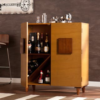 The Curated Nomad Belize Bar Hutch Cabinet