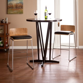Harper Blvd Colby Natural Birch/Black Stools
