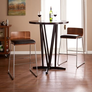 Harper Blvd Colby Walnut/Black Stools