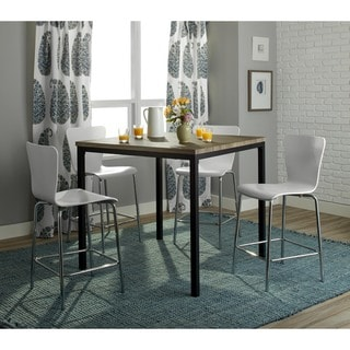 Simple Living 5-piece Pisa Counter Height Set
