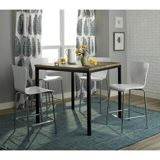 Simple Living 5-piece Modena Counter Height Set (3 options available)
