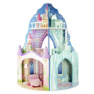 Teamson Kids Dual Theme Dollhouse Ice Mansion Dream Castle