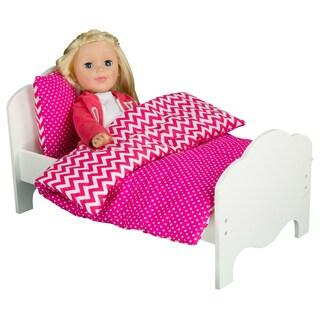 Olivia's Little World Little Princess 18-inch Doll Modern Chevron Bedding